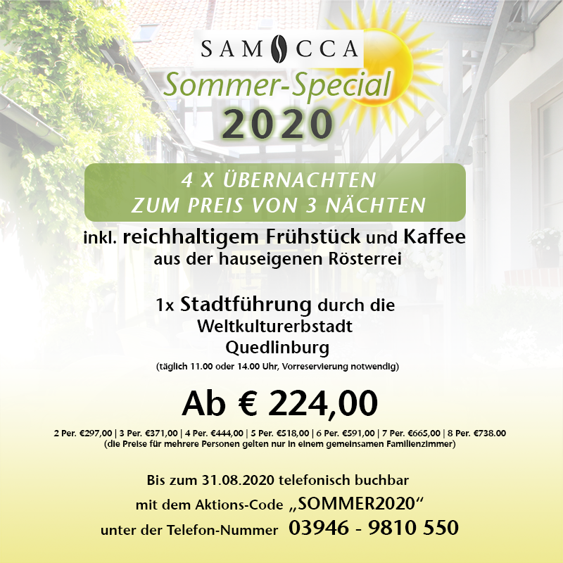 Sommer-Special 2020